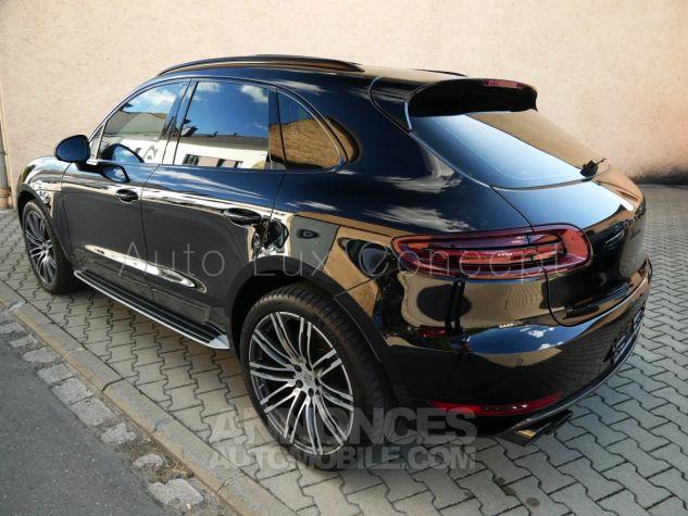 Porsche Macan  Toit pano, Pack Chrono, ACC, Caméra 360°, Burmester, Écrans AR Noir Occasion - 3