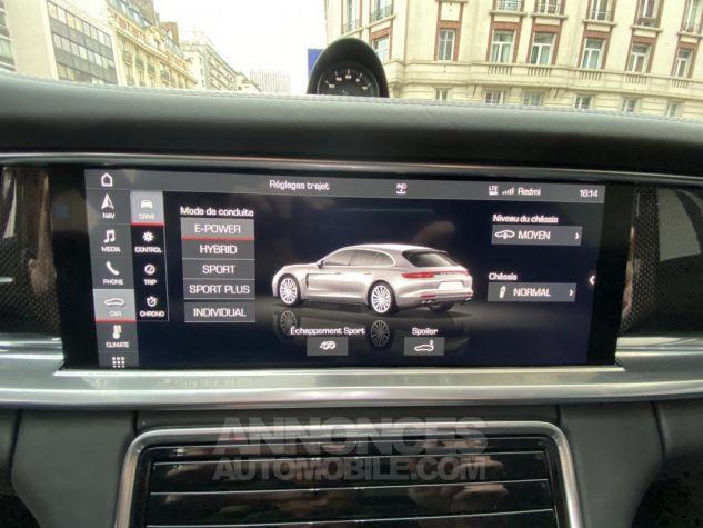 Porsche Panamera 4 V6 3.0 462 Hybrid Sport Turismo PDK Noir Métallisé Leasing - 18