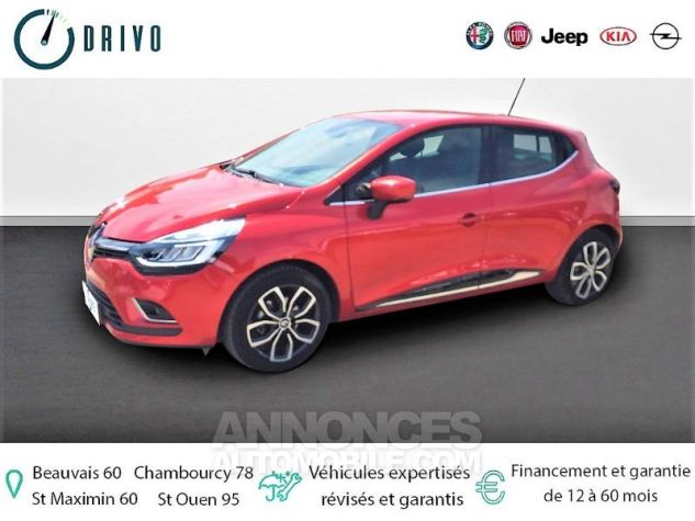 Renault Clio 0.9 TCe 90ch energy Intens 5p Euro6c Rouge Occasion - 0