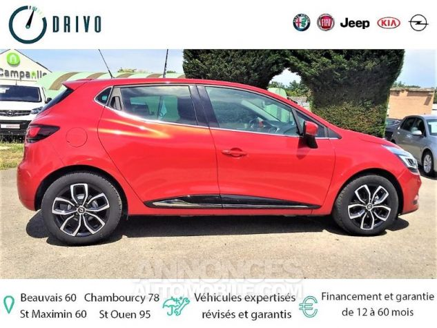 Renault Clio 0.9 TCe 90ch energy Intens 5p Euro6c Rouge Occasion - 4