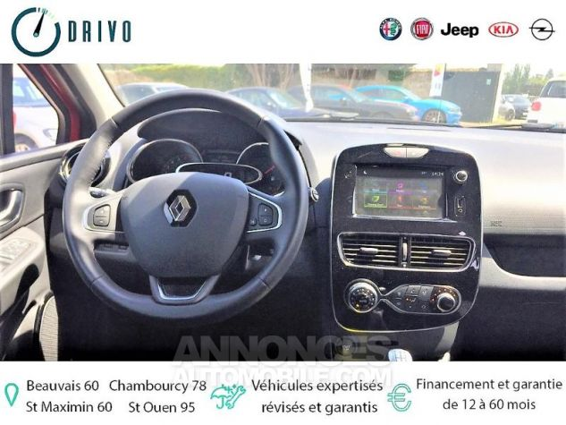 Renault Clio 0.9 TCe 90ch energy Intens 5p Euro6c Rouge Occasion - 8