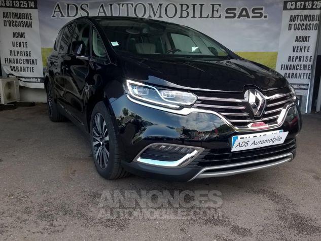 Renault ESPACE INITIALE PARIS 160 DCI BVA Noir Occasion - 0