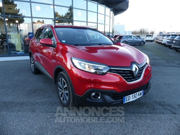 Renault Kadjar 1.5 DCI 110CH ENERGY BUSINESS EDC ECO² Rouge Flamme Occasion - 0