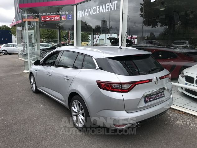 Renault Megane 1.5 DCI 110CH ENERGY INTENS EDC Gris Occasion - 8
