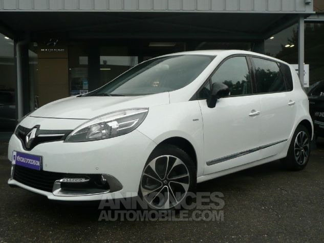 Renault Scenic dCi 130 Energy Bose ecoA2 2015 BLANC Occasion - 0