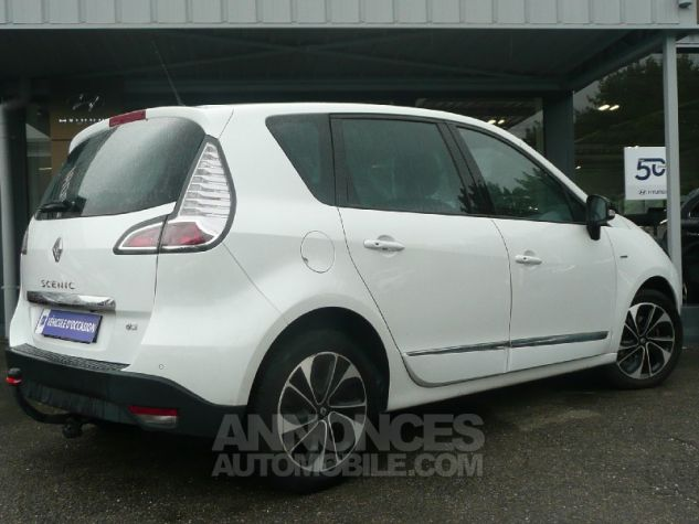 Renault Scenic dCi 130 Energy Bose ecoA2 2015 BLANC Occasion - 2
