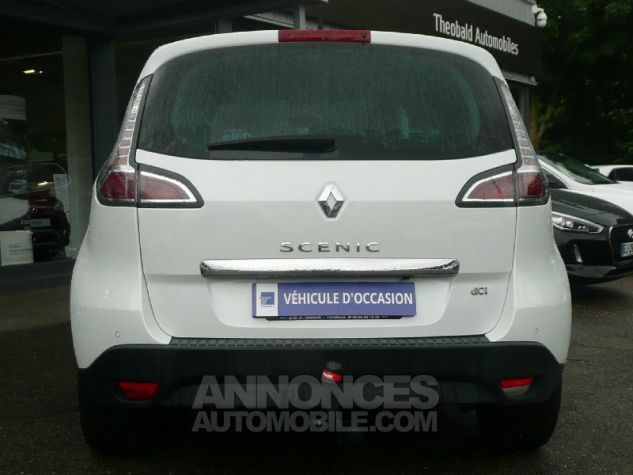 Renault Scenic dCi 130 Energy Bose ecoA2 2015 BLANC Occasion - 3