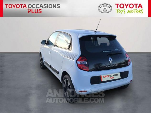 Renault TWINGO 1.0 SCe 70ch Stop&Start Zen eco² Blanc Occasion - 1