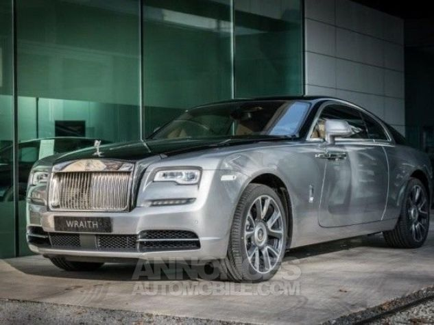 Rolls Royce Wraith Technical Black  Jubilee silver with Black Diam Occasion - 1