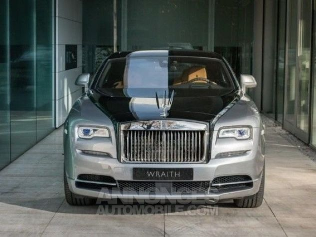 Rolls Royce Wraith Technical Black  Jubilee silver with Black Diam Occasion - 7