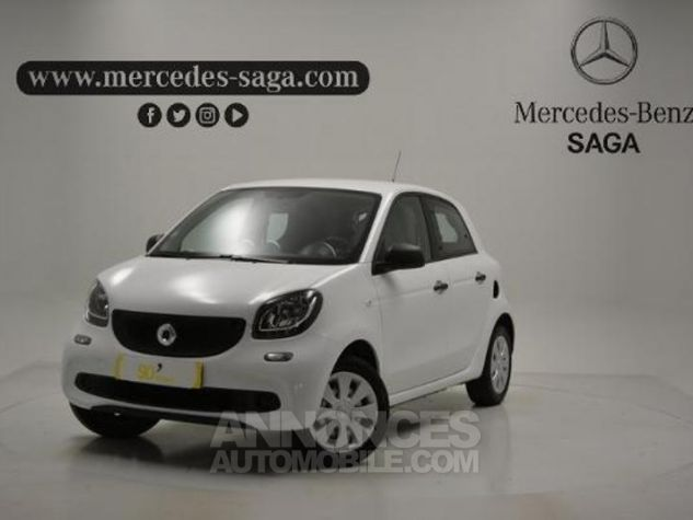 Smart FORFOUR 61ch pure Blanc Occasion - 0
