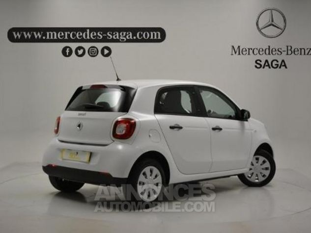 Smart FORFOUR 61ch pure Blanc Occasion - 1