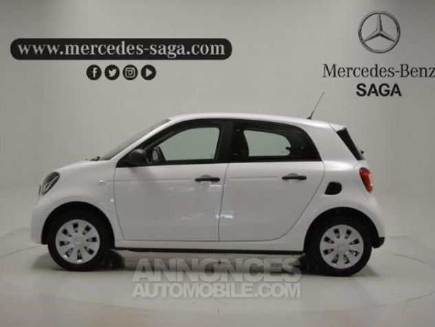 Smart FORFOUR 61ch pure Blanc Occasion - 2