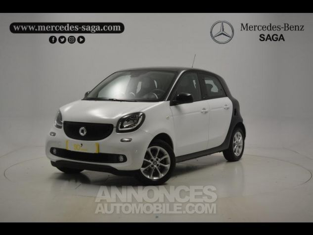 Smart FORFOUR 71ch passion Blanc Occasion - 0