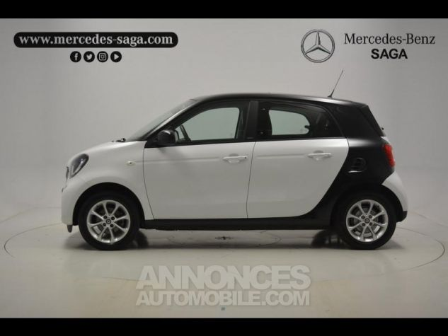 Smart FORFOUR 71ch passion Blanc Occasion - 12