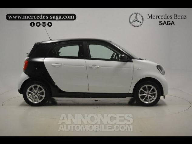 Smart FORFOUR 71ch passion Blanc Occasion - 14