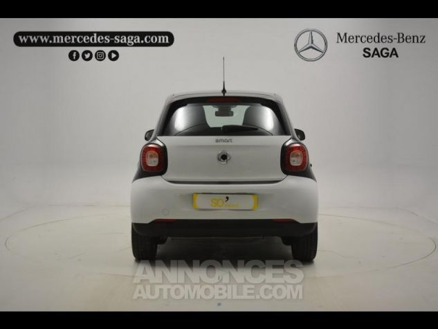 Smart FORFOUR 71ch passion Blanc Occasion - 15