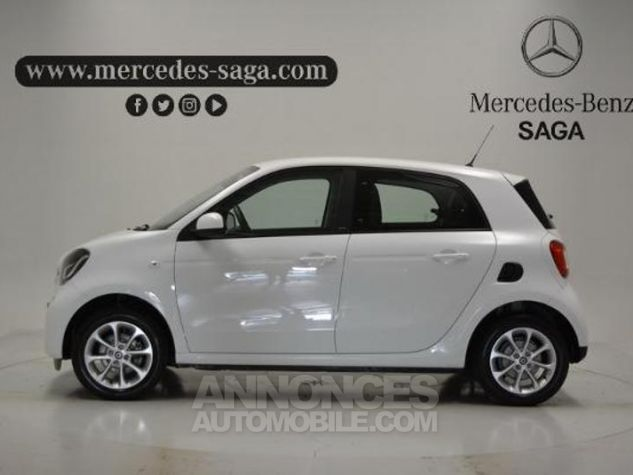 Smart FORFOUR 71ch passion Blanc Occasion - 4