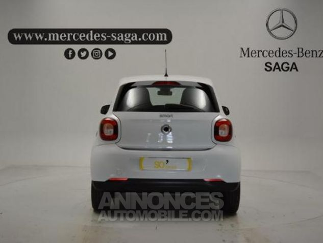 Smart FORFOUR 71ch passion Blanc Occasion - 5