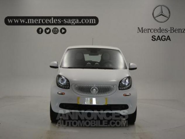 Smart FORFOUR 71ch passion Blanc Occasion - 6