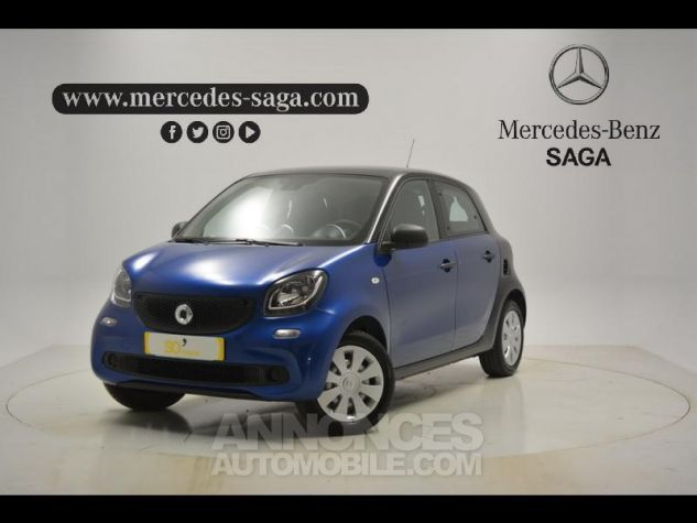 Smart FORFOUR 71ch pure bleu Occasion - 0