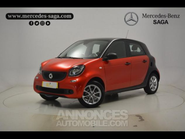 Smart FORFOUR 71ch pure Rouge Occasion - 0