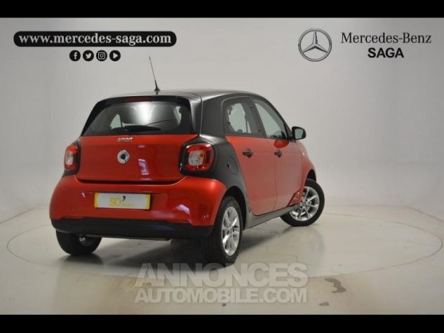 Smart FORFOUR 71ch pure Rouge Occasion - 1