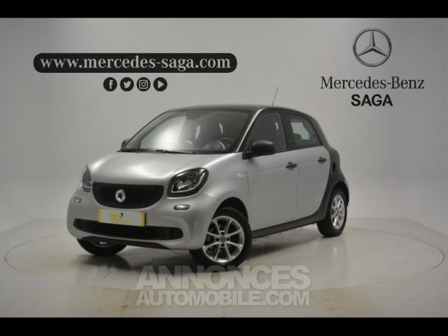 Smart FORFOUR 71ch pure ARGENT Occasion - 0