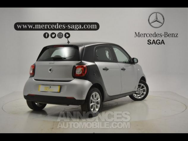 Smart FORFOUR 71ch pure ARGENT Occasion - 1