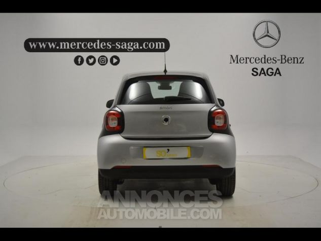 Smart FORFOUR 71ch pure ARGENT Occasion - 3