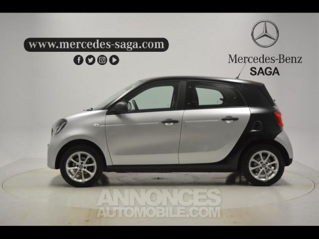 Smart FORFOUR 71ch pure ARGENT Occasion - 4