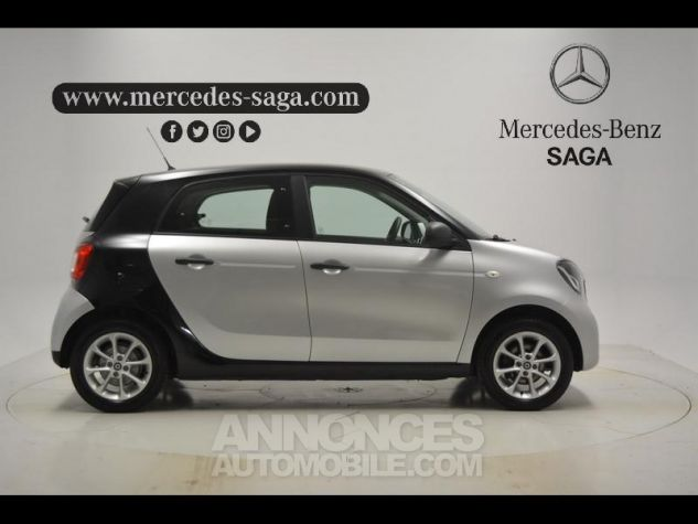 Smart FORFOUR 71ch pure ARGENT Occasion - 6