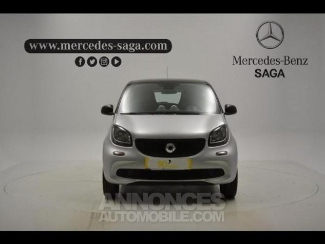 Smart FORFOUR 71ch pure Gris Clair Metal Occasion - 2