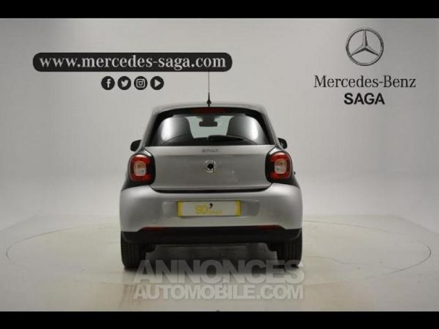 Smart FORFOUR 71ch pure Gris Clair Metal Occasion - 3