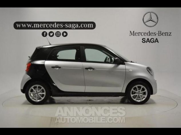 Smart FORFOUR 71ch pure Gris Clair Metal Occasion - 5