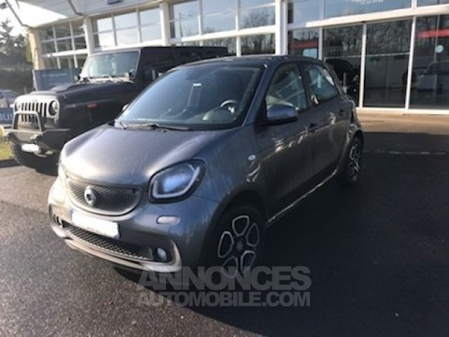 Smart FORFOUR II 0.9 90 PRIME TWINAMIC Gris Occasion - 2