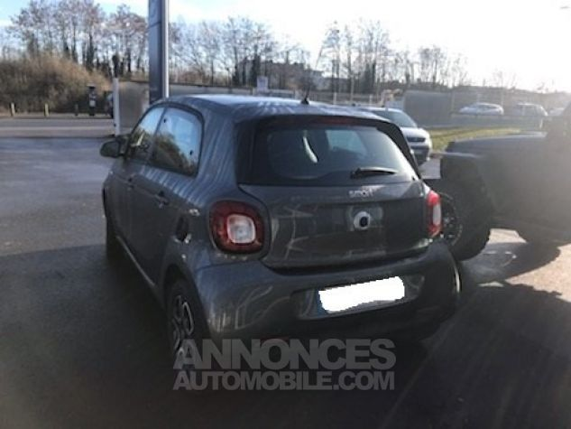 Smart FORFOUR II 0.9 90 PRIME TWINAMIC Gris Occasion - 4