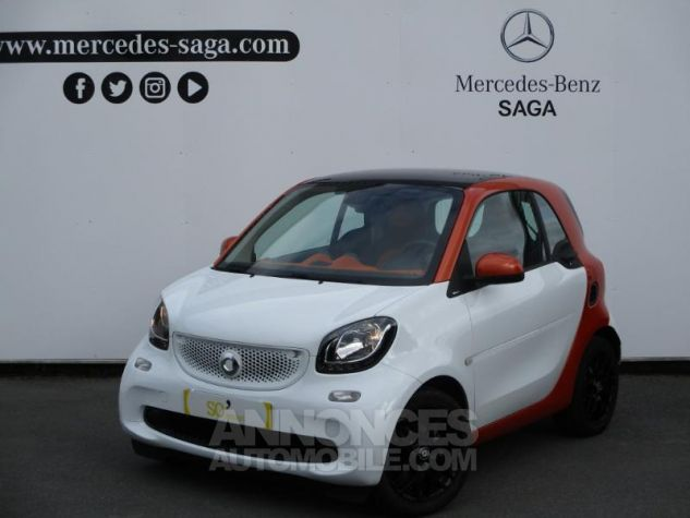 Smart Fortwo 71ch edition 1 twinamic BLANC Occasion - 0