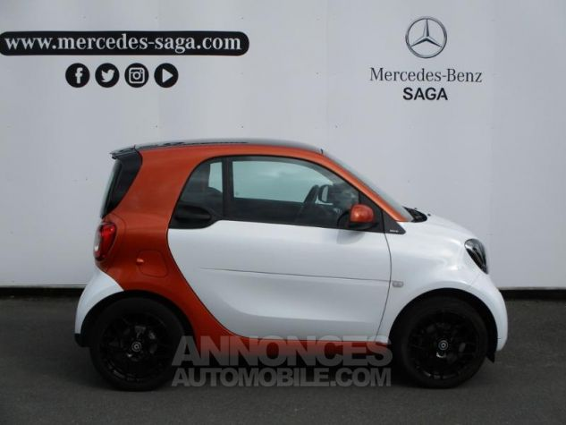 Smart Fortwo 71ch edition 1 twinamic BLANC Occasion - 3