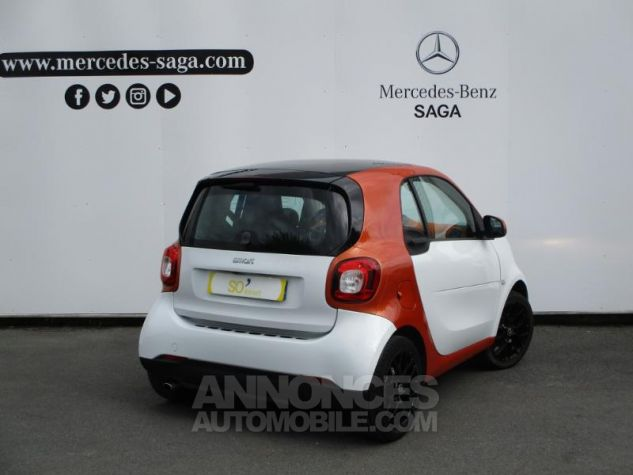 Smart Fortwo 71ch edition 1 twinamic BLANC Occasion - 1
