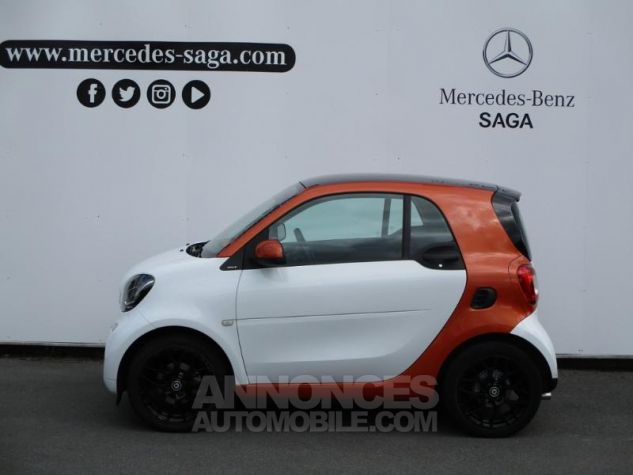 Smart Fortwo 71ch edition 1 twinamic BLANC Occasion - 9