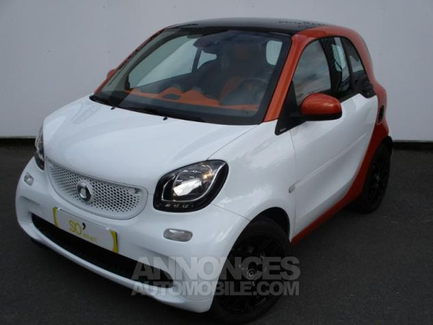 Smart Fortwo 71ch edition 1 twinamic BLANC Occasion - 11