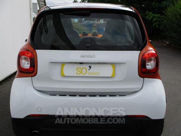 Smart Fortwo 71ch edition 1 twinamic BLANC Occasion - 12