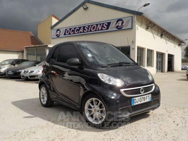 Smart Fortwo 71CH MHD PASSION SOFTOUCH NOIR Occasion - 0