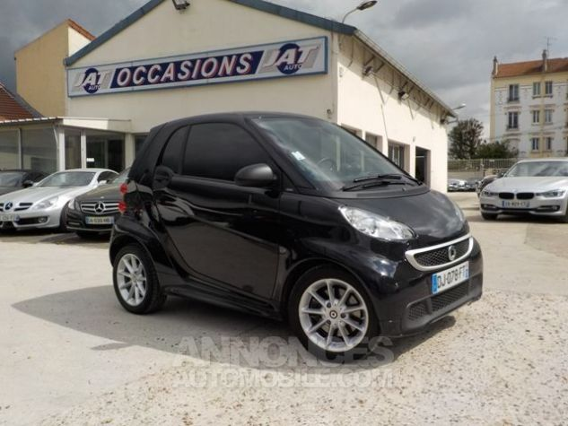Smart Fortwo 71CH MHD PASSION SOFTOUCH NOIR Occasion - 1
