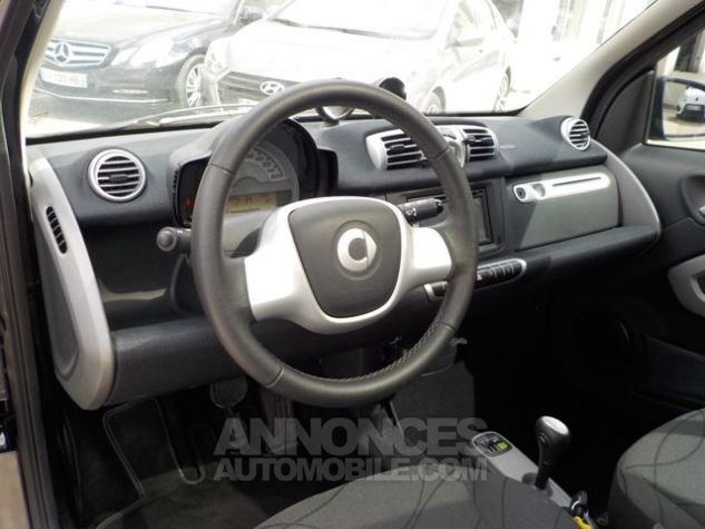 Smart Fortwo 71CH MHD PASSION SOFTOUCH NOIR Occasion - 3
