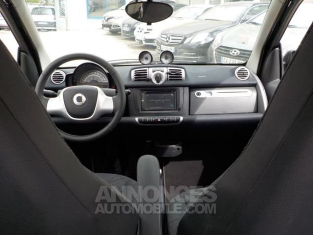 Smart Fortwo 71CH MHD PASSION SOFTOUCH NOIR Occasion - 5