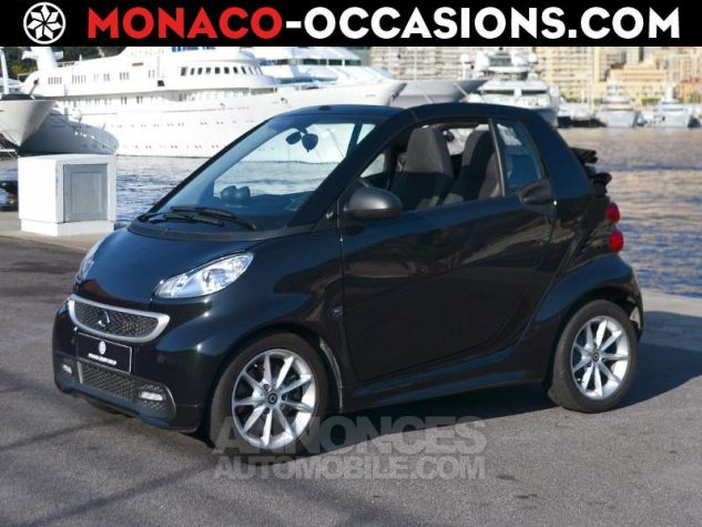 Smart Fortwo 71ch mhd Passion Softouch Noir Metalisée Occasion - 0