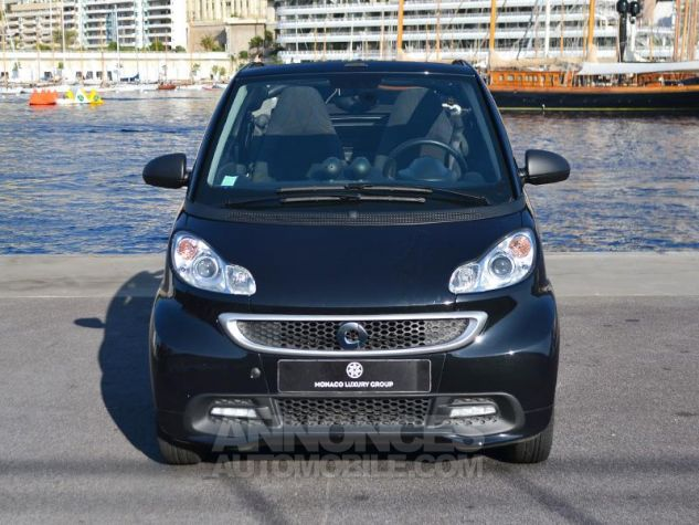 Smart Fortwo 71ch mhd Passion Softouch Noir Metalisée Occasion - 1