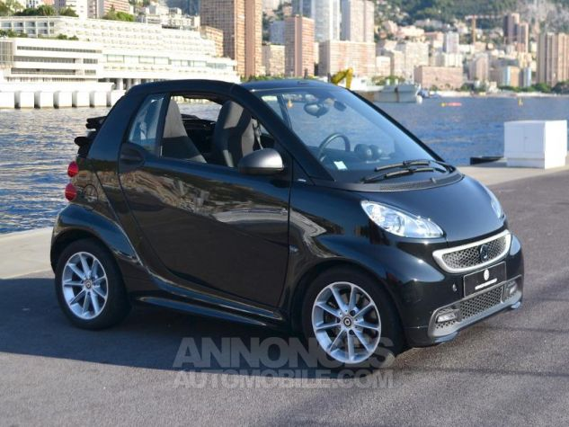 Smart Fortwo 71ch mhd Passion Softouch Noir Metalisée Occasion - 2